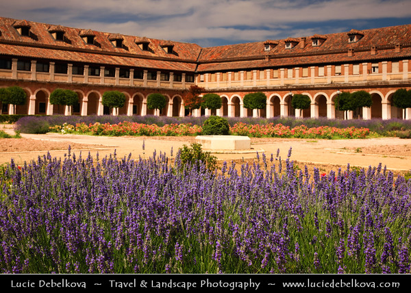 Europe - Spain - España - Madrid Province - Aranjuez - UNESCO World Heritage Site - Royal Palace of Aranjuez - Palacio Real de Aranjuez - Residence of the King of Spain & One of Spanish royal sites