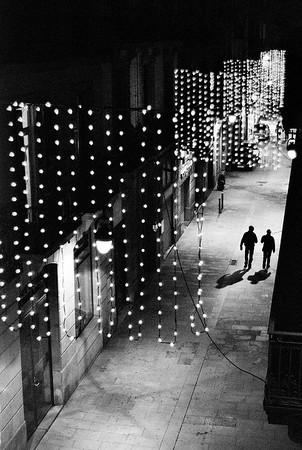 Alley Scene Night #6a - Barcelona, Spain