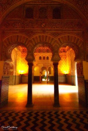 The Reales Alcazares Interior #1 - Seville, Spain