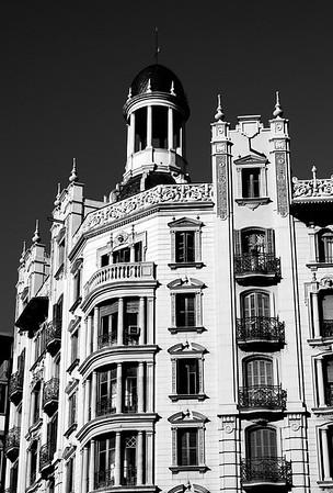 Building Architecture #1a - Barcelona, Spain