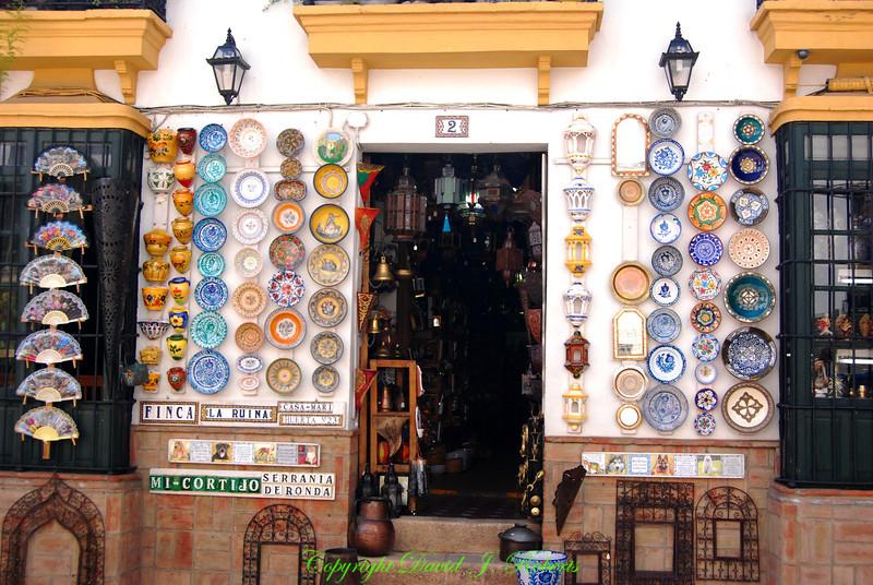 Shop, Ronda, Spain