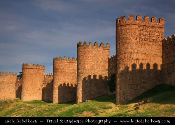Europe - Spain - España - Castile and León - Ávila - UNESCO W