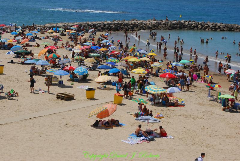 Beach in Cadiz, Spain