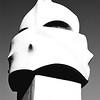 Chimney Statue with Helmet #1a, Gaudi Casa Mila - Barcelona, Spain