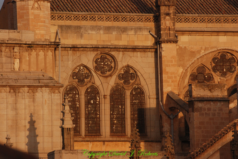 Windows of the Cathedral, Toledo, Spain