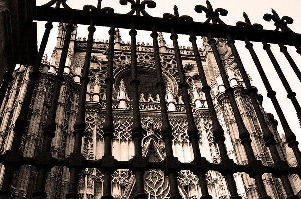 Gate View #8s, Cathedral of Seville - Seville, Spain