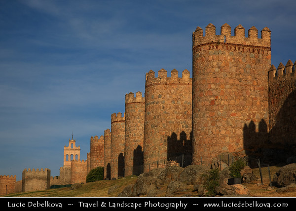 Europe - Spain - España - Castile and León - Ávila - UNESCO W