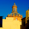 Dome of Iglesia de Santa Cruz Church - Seville, Spain