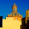 Dome of Iglesia de Santa Cruz Church - Seville, Spain