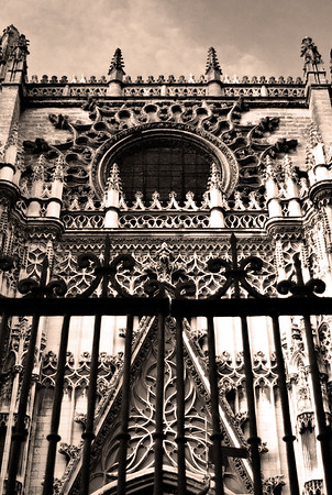 Gate View #14s, Cathedral of Seville - Seville, Spain