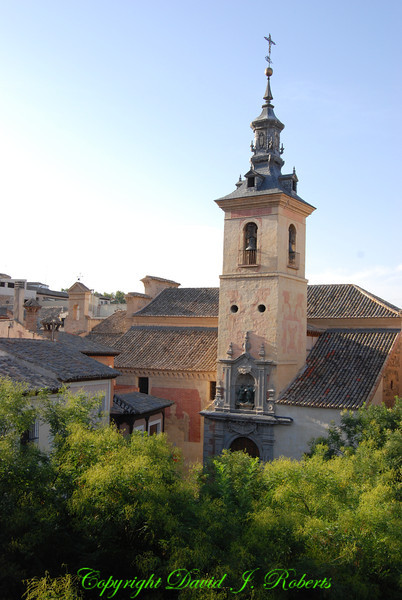 Small church, Toledo, Spain