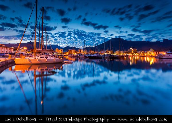 Europe - Spain - Balearic Islands archipelago - Majorca - Mallorca - Port de Pollença - Puerto Pollensa - Small fishing town in north-eastern Mallorca, situated on the Bay of Pollença