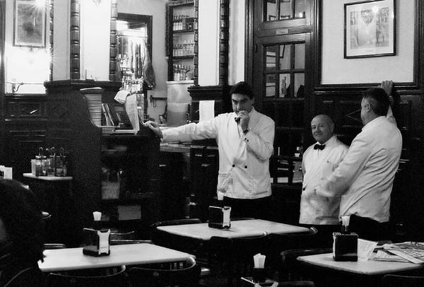 Waiters in Restaurant #2a - Madrid, Spain
