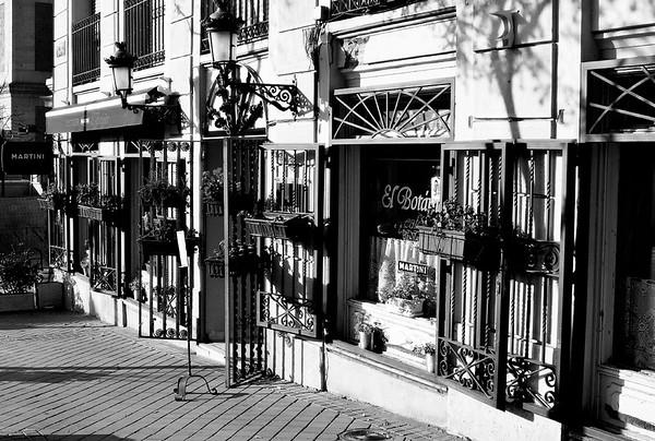 Madrid Street Scene #15a  - Madrid, Spain