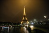 """La Tour Eiffel"" on a misty evening<br /> <br /> ~ Image by Martin McKenzie ~ All Rights Reserved"