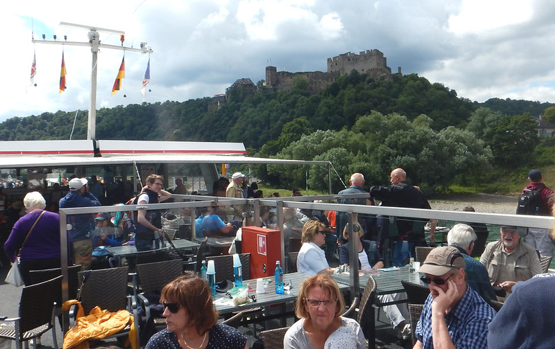 Schloss Rheinfels, from the ship, as we approached St. Goar.