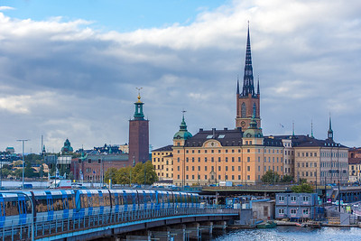 Riddarholmen Church, resting place of the Swedish monarchs.