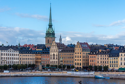 The German Church and Old Town on Gamla Stan