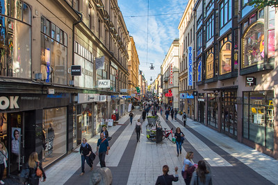 Shopping in Stockholm, Sweden
