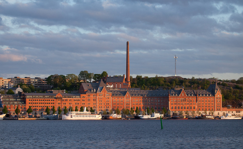 View from Stadshuset towards Sodermalm.
