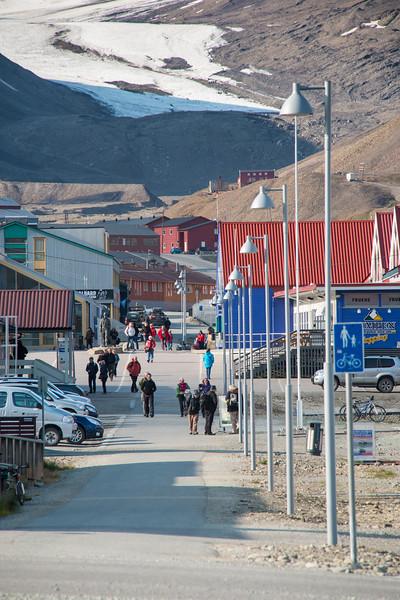 """""""Main Street"""", Longyearbyen"""