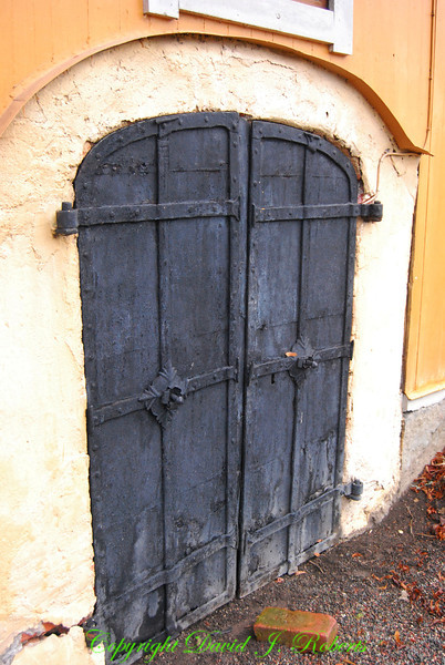 Cellar doors, Taxnas, Sweden