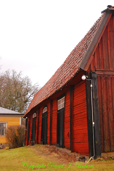 Old barn, Taxnas, Sweden