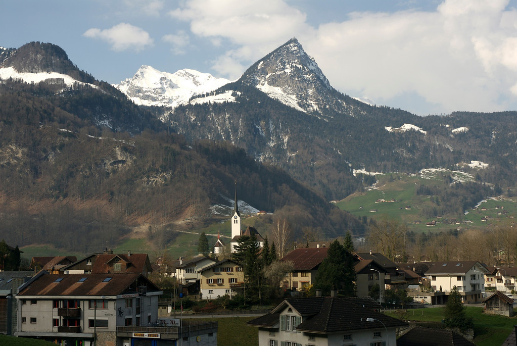 On the way to Lucern on March 28th.
