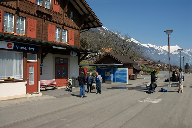Niederried Station. March 26th.