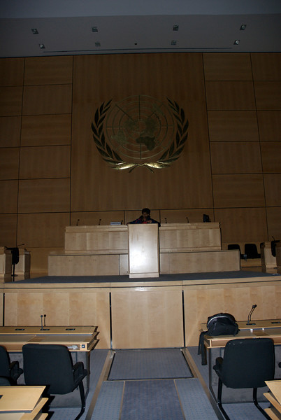 United Nations Assembly Hall. March 31st 2007
