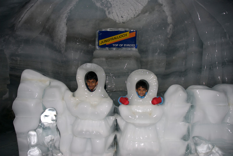 Ice caves at Jungfraujoch