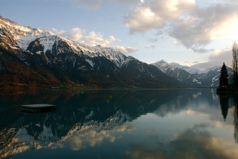 More reflections on Lake Brienz.
