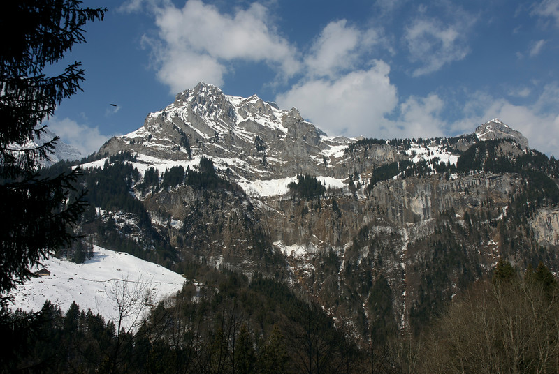 Mt. Titlis area. March 29th