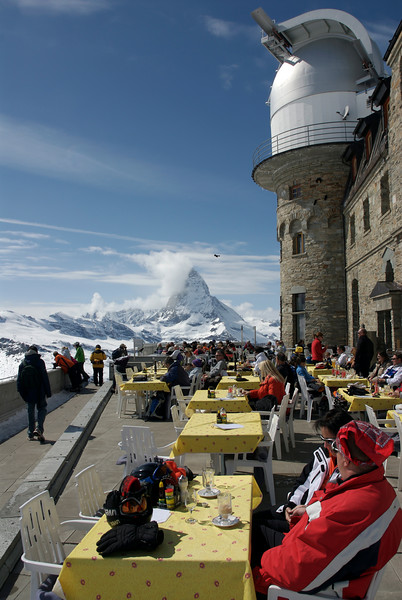 Gornnergrat - View of Matterhorn