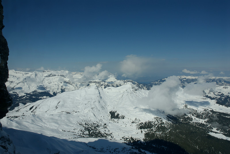View from Eigerwand. 2865m