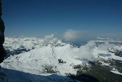 View from Eigerwand. 2865m