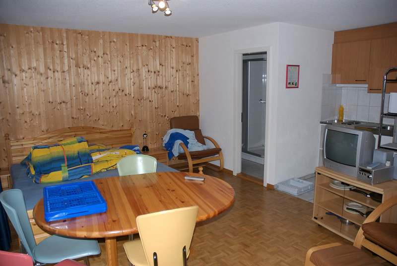 The studio apartment we stayed while at Interlaken - Schwizi's Resort Apt #14 at Niederried