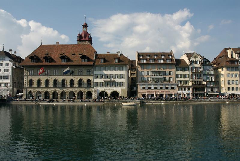 Lucern. Lakeside