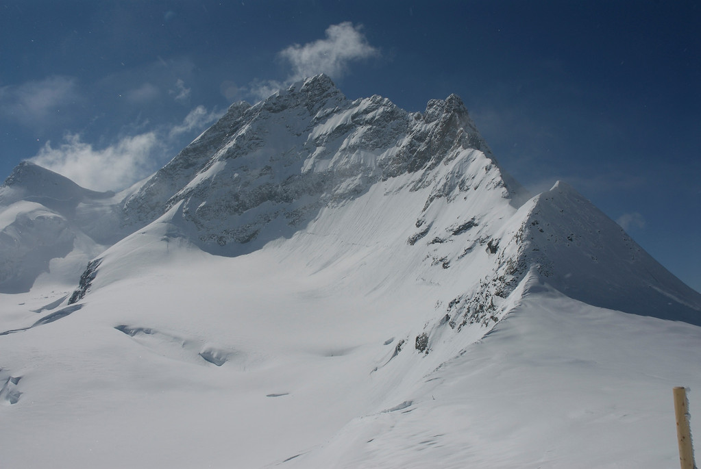 Jungfraujoch Peak. March 27th