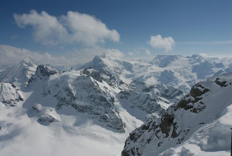 Peaks around Mt Titlus