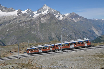 Gornergrat train, up to 3070m