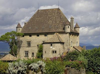 Chateau d'Yvoire, Yvoire, France