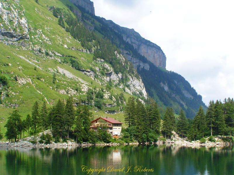 Seealpsee, Ebenalp, Switzerland