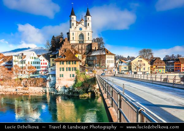 Europe - Switzerland - Swiss - Aargau Canton - Aarburg - Histori