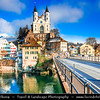 Europe - Switzerland - Swiss - Aargau Canton - Aarburg - Histori