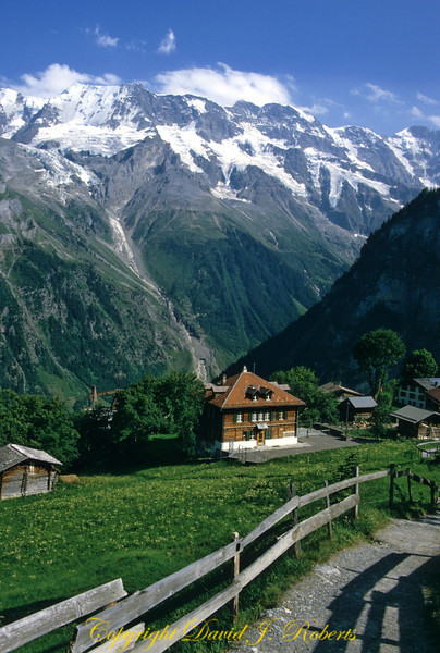 School in Gimmelwald, Switzerland