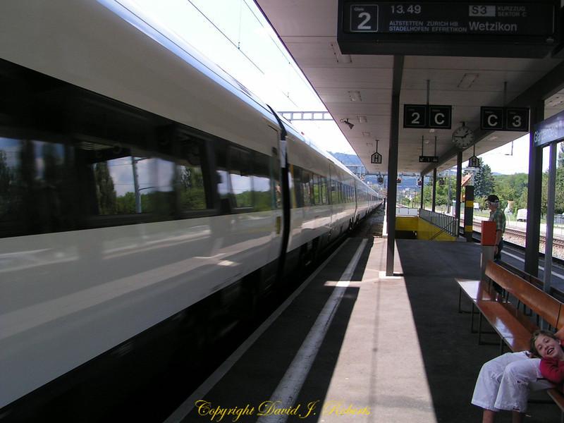 Train station near Zurich