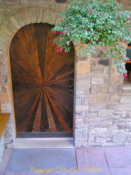 Arched door, Zermatt, Switzerland