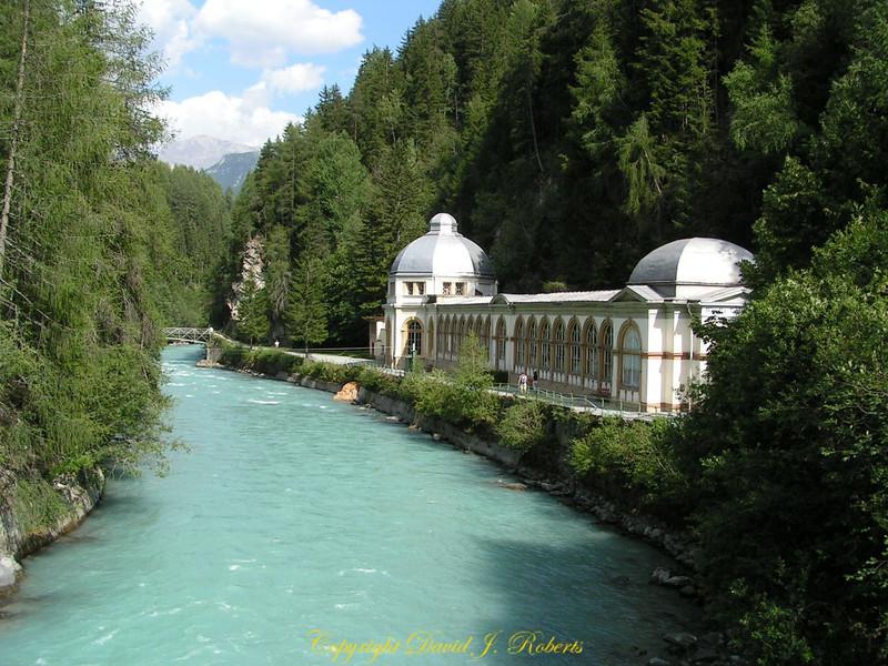 Inn River and spa, Volpera, Switzerland