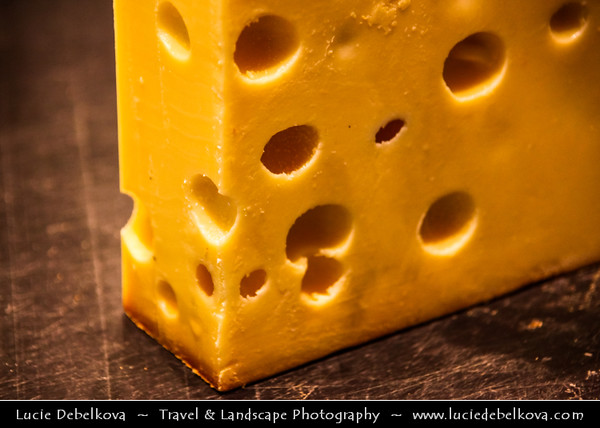 Switzerland - Swiss - Emmental - Emmentaler - Cheese from Switzerland - Swiss Cheese Originally from the Emme Valley